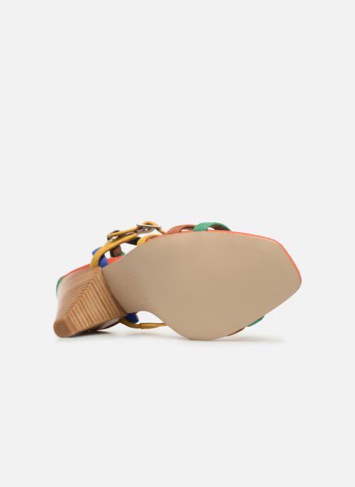 Sandales et nu-pieds Made by SARENZA UrbAfrican Sandales à Talons #6 Multicolore vue haut