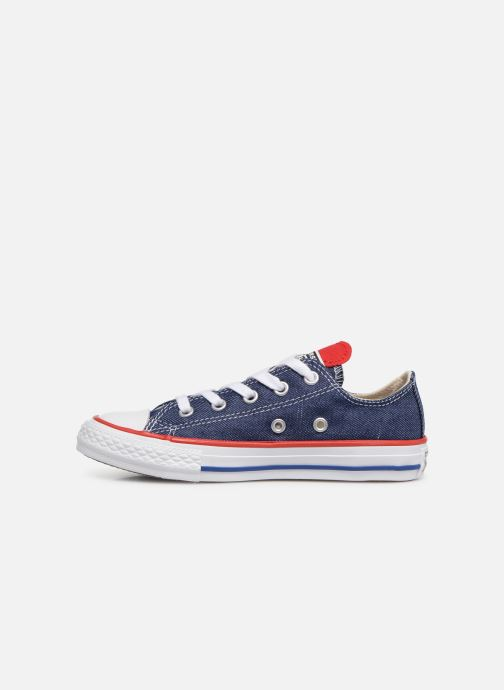 Baskets Converse Chuck Taylor All Star Ox Sucker for Love Bleu vue face