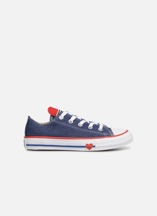 Baskets Converse Chuck Taylor All Star Ox Sucker for Love Bleu vue derrière