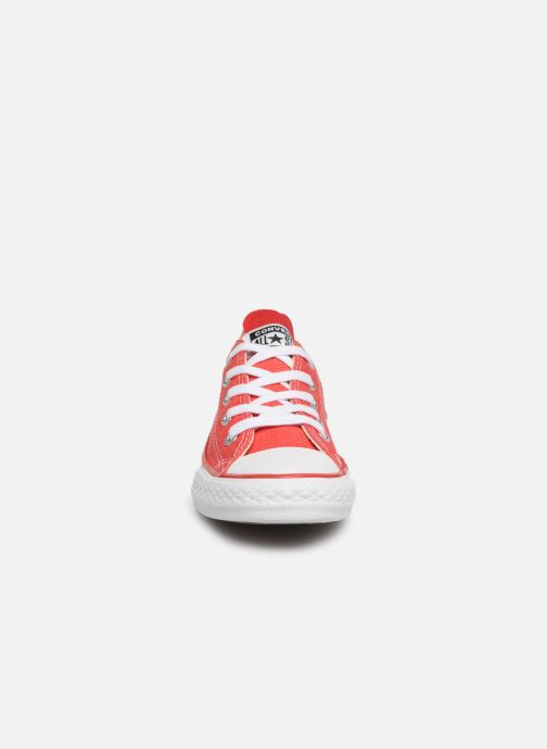 Baskets Converse Chuck Taylor All Star Ox Sucker for Love Rouge vue portées chaussures