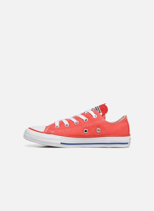 Baskets Converse Chuck Taylor All Star Ox Sucker for Love Rouge vue face