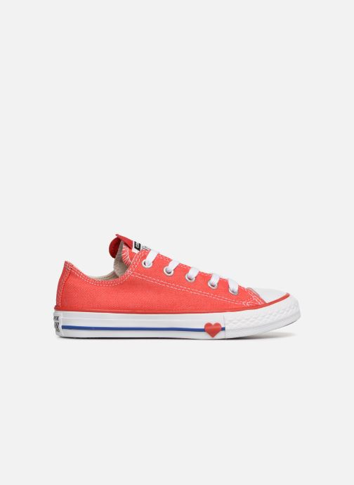 Baskets Converse Chuck Taylor All Star Ox Sucker for Love Rouge vue derrière