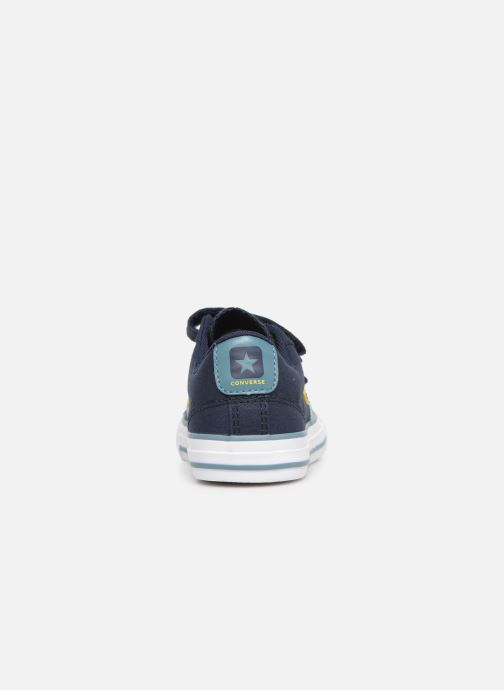 Sneaker Converse Star Player 3V Ox Spring Essentials blau ansicht von rechts