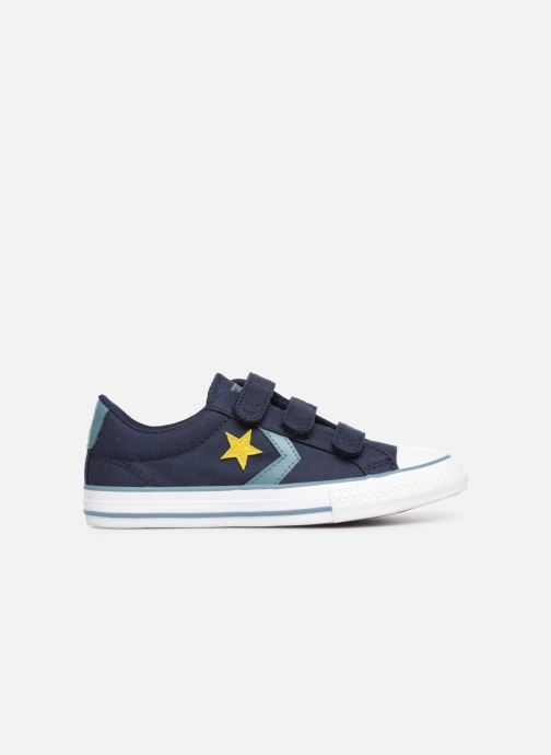 Sneaker Converse Star Player 3V Ox Spring Essentials blau ansicht von hinten