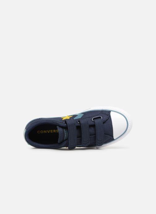 Sneaker Converse Star Player 3V Ox Spring Essentials blau ansicht von links