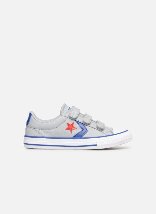 Sneaker Converse Star Player 3V Ox Spring Essentials grau ansicht von hinten