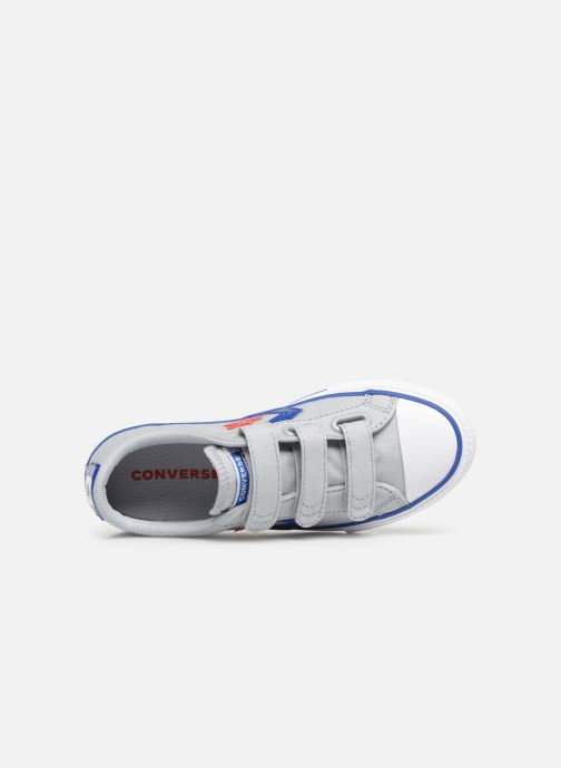 Sneaker Converse Star Player 3V Ox Spring Essentials grau ansicht von links