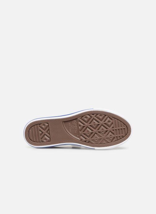 Sneaker Converse Star Player 3V Ox Spring Essentials grau ansicht von oben