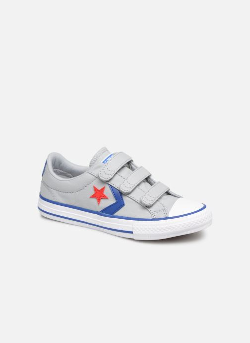 2b38b40516b Trainers Converse Star Player 3V Ox Spring Essentials Grey detailed view/  Pair view