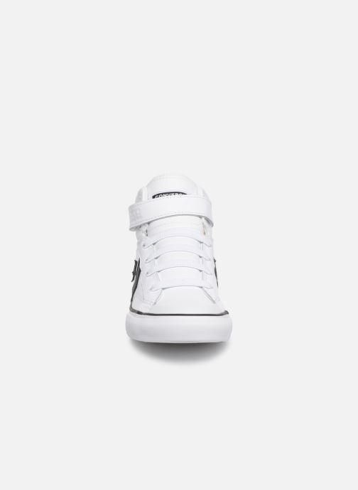 Baskets Converse Pro Blaze Strap Hi Spring Essentials Blanc vue portées chaussures