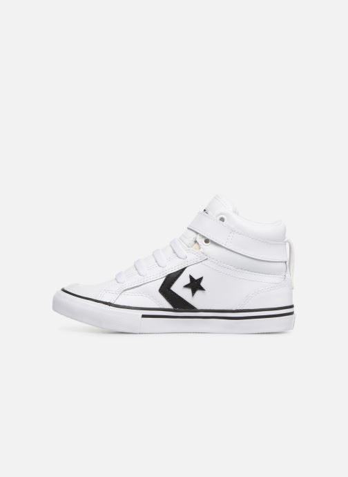 Trainers Converse Pro Blaze Strap Hi Spring Essentials White front view