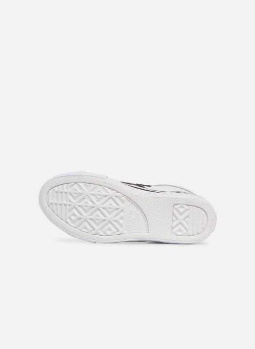 Baskets Converse Pro Blaze Strap Hi Spring Essentials Blanc vue haut