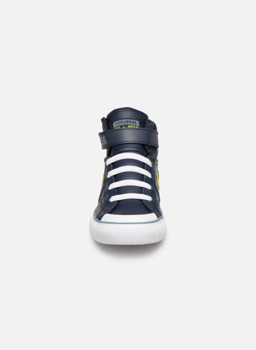 Trainers Converse Pro Blaze Strap Hi Spring Essentials Blue model view