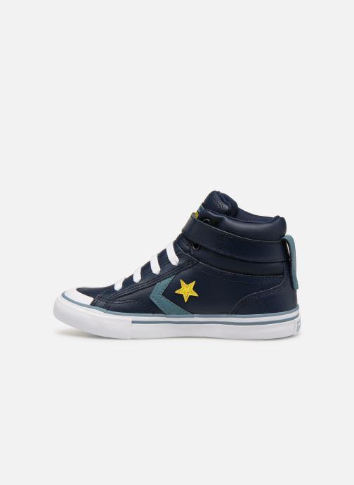 Sneakers Converse Pro Blaze Strap Hi Spring Essentials Azzurro immagine frontale