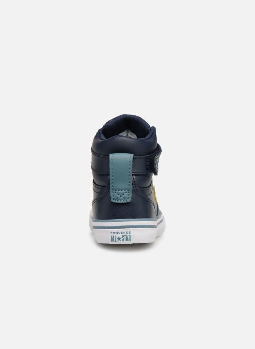 Sneakers Converse Pro Blaze Strap Hi Spring Essentials Azzurro immagine destra