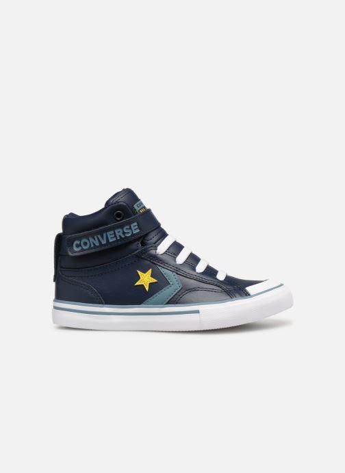 Baskets Converse Pro Blaze Strap Hi Spring Essentials Bleu vue derrière
