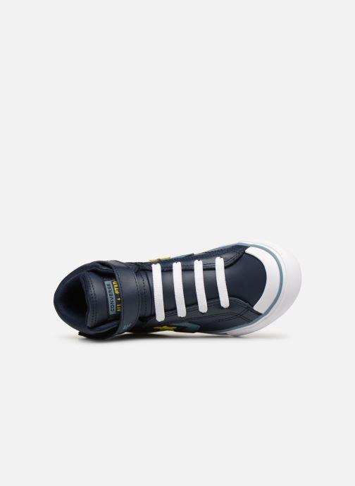 Sneaker Converse Pro Blaze Strap Hi Spring Essentials blau ansicht von links