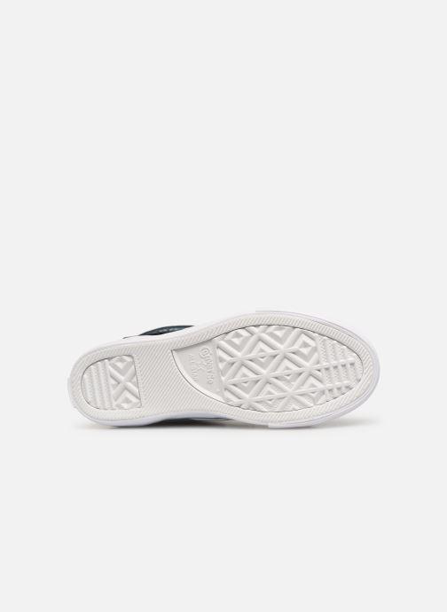 Sneaker Converse Pro Blaze Strap Hi Spring Essentials blau ansicht von oben