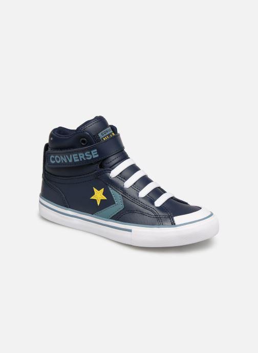 Baskets Converse Pro Blaze Strap Hi Spring Essentials Bleu vue détail/paire