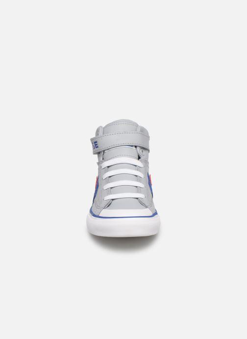 Sneaker Converse Pro Blaze Strap Hi Spring Essentials grau schuhe getragen