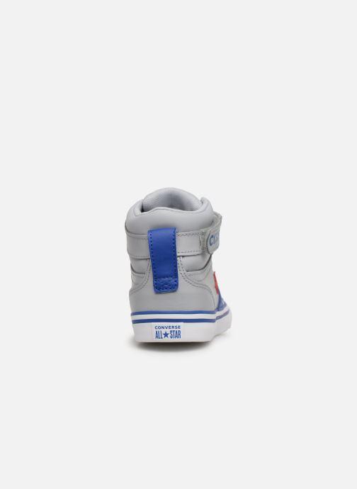 Sneaker Converse Pro Blaze Strap Hi Spring Essentials grau ansicht von rechts