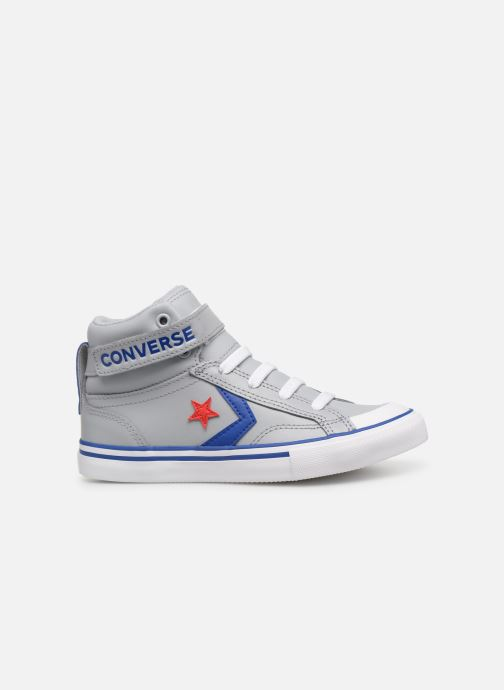 Sneaker Converse Pro Blaze Strap Hi Spring Essentials grau ansicht von hinten