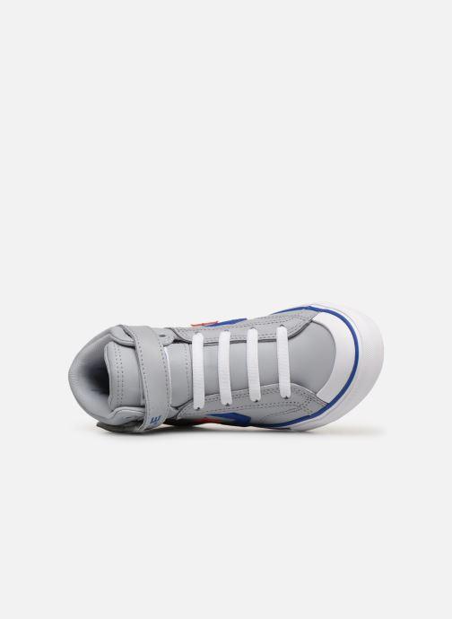 Sneaker Converse Pro Blaze Strap Hi Spring Essentials grau ansicht von links