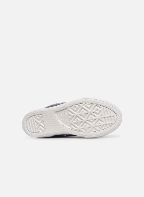 Sneaker Converse Pro Blaze Strap Hi Spring Essentials grau ansicht von oben