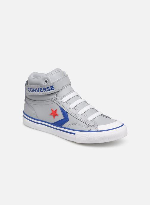 Sneaker Converse Pro Blaze Strap Hi Spring Essentials grau detaillierte ansicht/modell