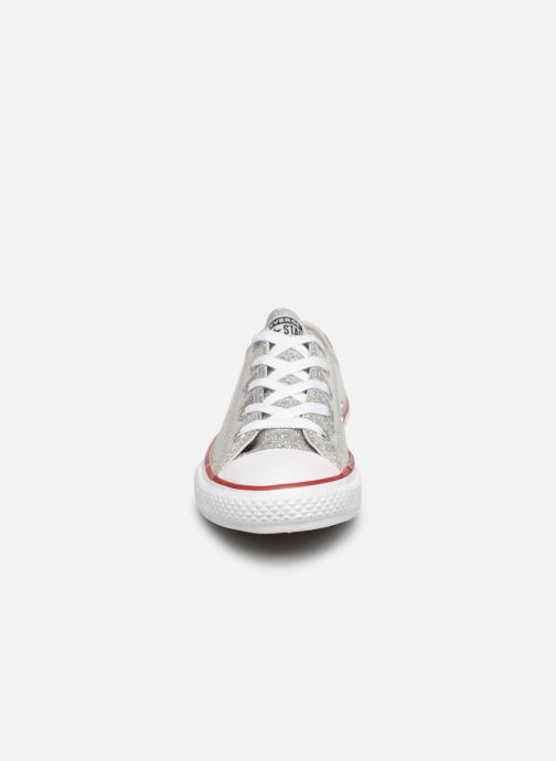 Trainers Converse Chuck Taylor All Star Ox Sport Sparkle Silver model view