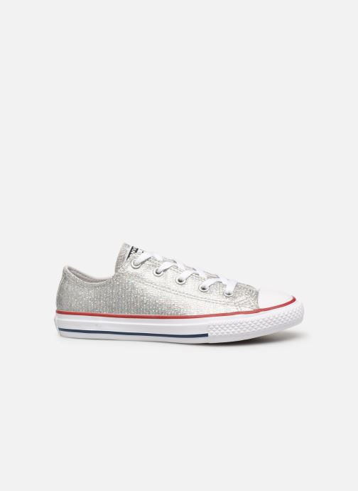 Trainers Converse Chuck Taylor All Star Ox Sport Sparkle Silver back view