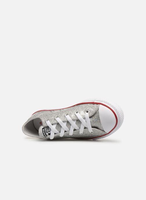 Sneakers Converse Chuck Taylor All Star Ox Sport Sparkle Silver bild från vänster sidan