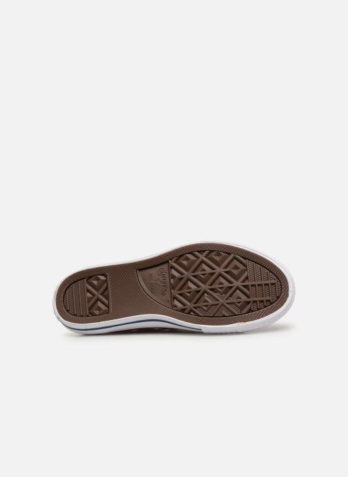 Sneakers Converse Chuck Taylor All Star Ox Sport Sparkle Argento immagine dall'alto