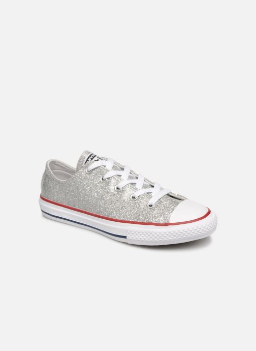 Sneakers Converse Chuck Taylor All Star Ox Sport Sparkle Zilver detail