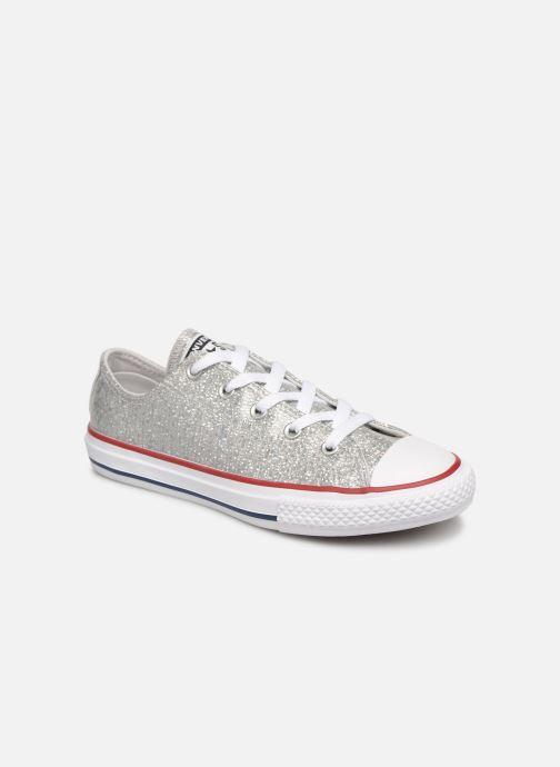 Sneakers Converse Chuck Taylor All Star Ox Sport Sparkle Argento vedi dettaglio/paio