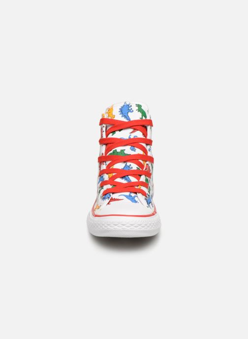 Baskets Converse Chuck Taylor All Star Hi Dinoverse Multicolore vue portées chaussures