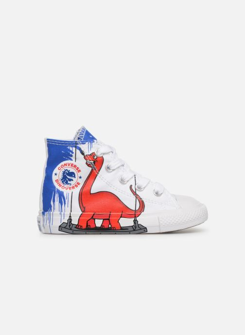 Trainers Converse Chuck Taylor All Star Hi Dinoverse White back view