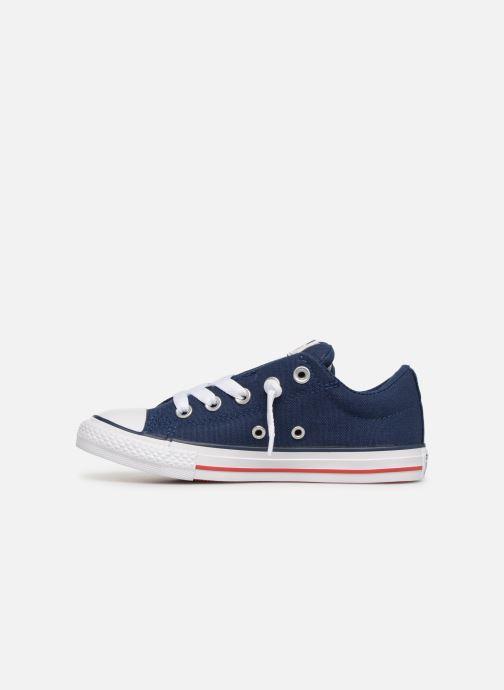 Sneaker Converse Chuck Taylor All Star Street Slip Canvas blau ansicht von vorne