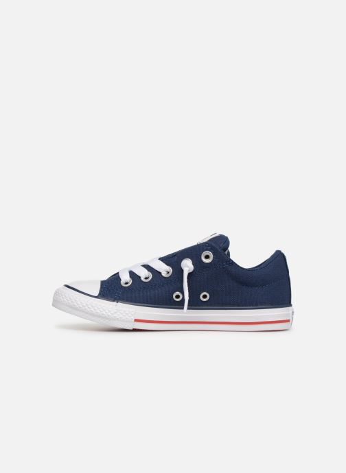 Sneakers Converse Chuck Taylor All Star Street Slip Canvas Blauw voorkant