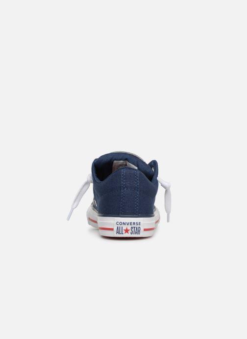 Sneakers Converse Chuck Taylor All Star Street Slip Canvas Blauw rechts