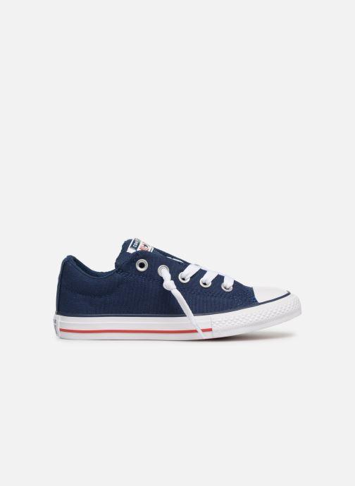 Sneaker Converse Chuck Taylor All Star Street Slip Canvas blau ansicht von hinten