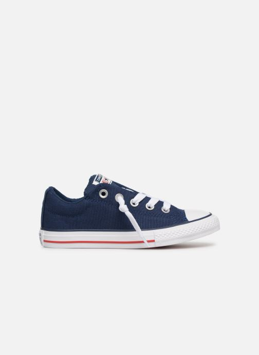 Baskets Converse Chuck Taylor All Star Street Slip Canvas Bleu vue derrière