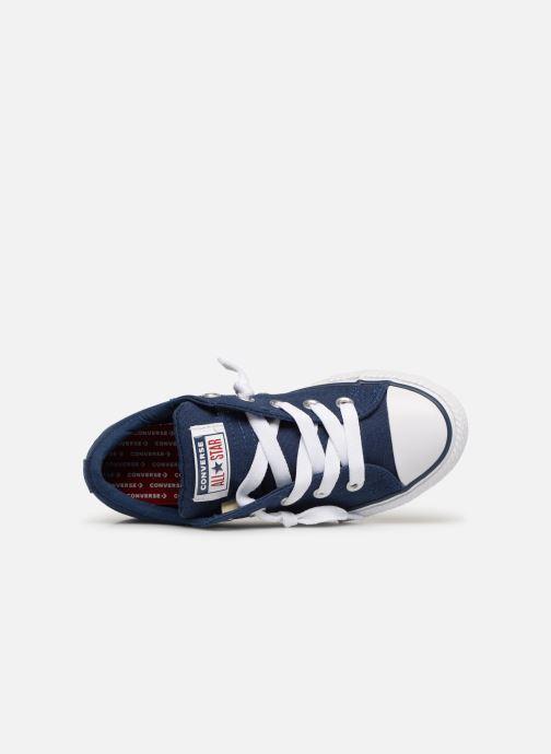 Sneaker Converse Chuck Taylor All Star Street Slip Canvas blau ansicht von links