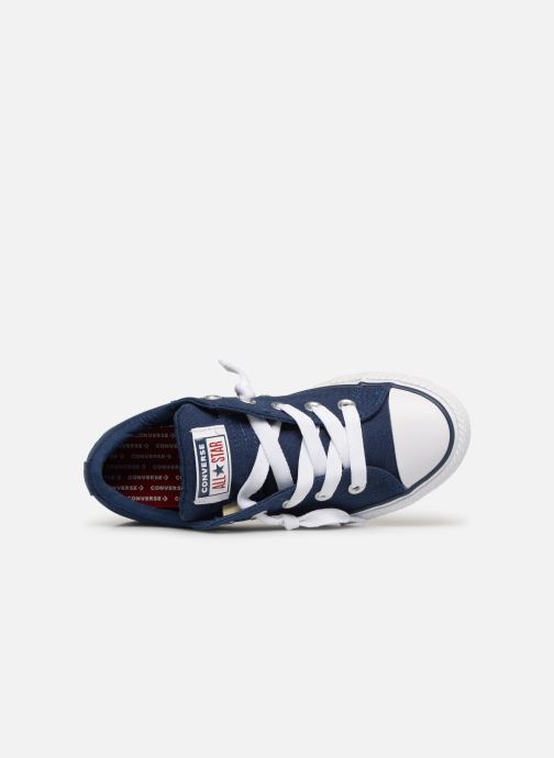 Baskets Converse Chuck Taylor All Star Street Slip Canvas Bleu vue gauche