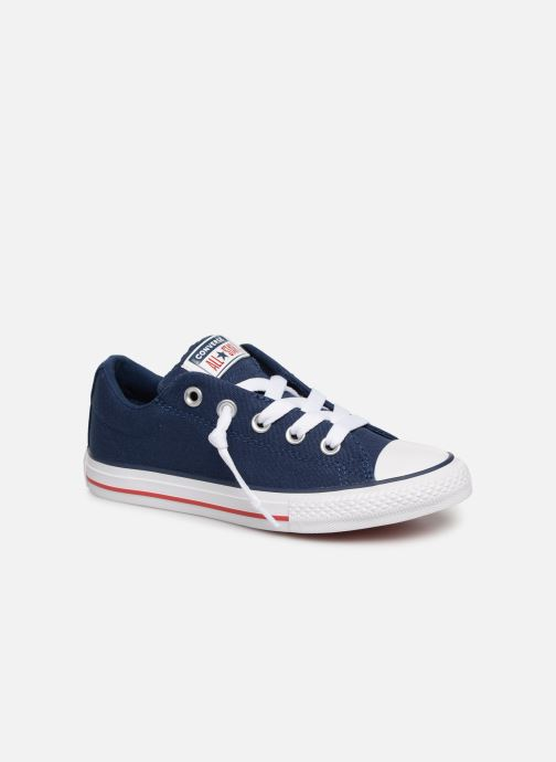 Baskets Converse Chuck Taylor All Star Street Slip Canvas Bleu vue détail/paire