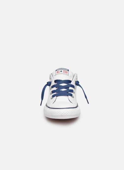 Sneaker Converse Chuck Taylor All Star Street Slip Canvas weiß schuhe getragen
