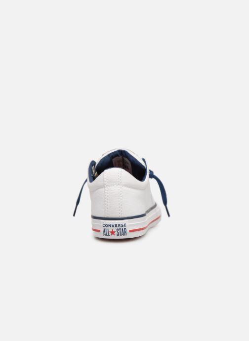 Sneaker Converse Chuck Taylor All Star Street Slip Canvas weiß ansicht von rechts
