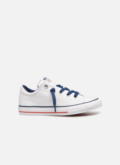 Sneakers Converse Chuck Taylor All Star Street Slip Canvas Wit achterkant