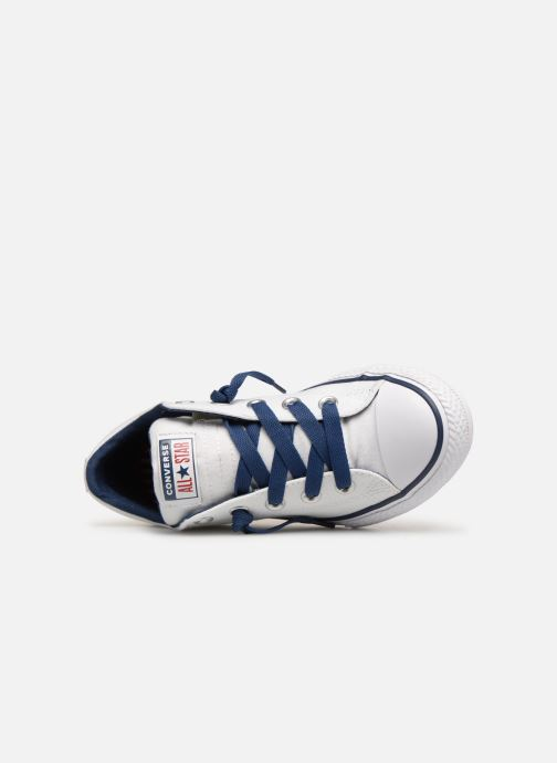 Sneakers Converse Chuck Taylor All Star Street Slip Canvas Bianco immagine sinistra