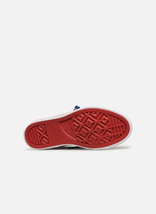 Sneaker Converse Chuck Taylor All Star Street Slip Canvas weiß ansicht von oben